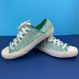 Kate Spade PF Flyer patterned low top sneakers 8